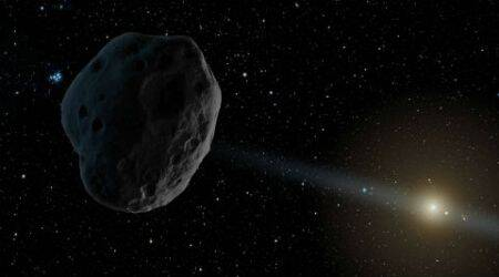 asteroid circling earth - photo #9