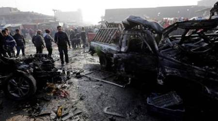 suicide attacks, suicide attack baghdad, iraq suicide attack, car bombing Baghdad, Baghdad bombing, Baghdad suicide bombing, iraq, iraq bombing, IS, IS bombing, islamic state, latest news, latest world news