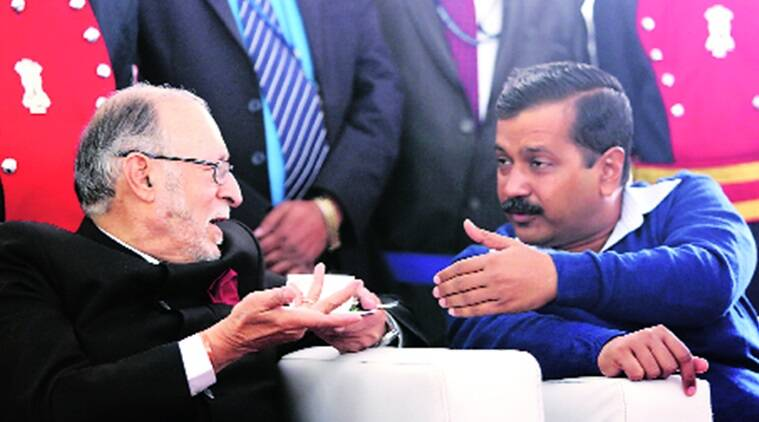arvind kejriwal news, anil baijal news, india news, indian express news