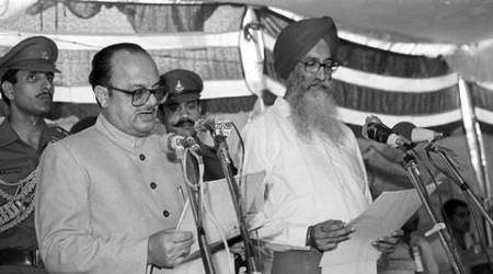 Surjit Singh Barnala: Moderate Akali politician who almost became Prime Minister