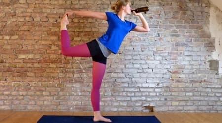 beer yoga, what is beer yoga, beer yoga benefits, how to do beer yoga, where to find beer yoga, where can i try beer yoga, beer yoga bier yoga, beer yoga fitness, beer yoga trends, beer yoga pictures, beer yoga experience, indian express, indian express news