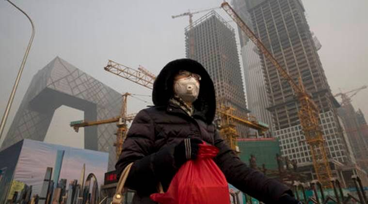 China, China smog, China coal, china construction, China natural gases, China pollution, greenhouse gas emissions, World news, Indian Express