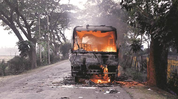 bengal protests, bengal firing, bengal land agitation, bhangar firing, south 24 parganas firing, west bengal, bhangar land protest, india news, kolkata news