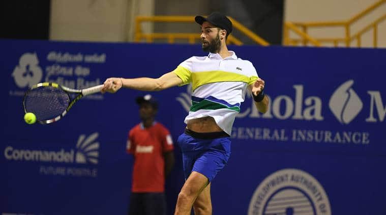 chennai open, chennai open 2017, yuki bhambri, chennai open yuki bhambri, yuki bhambri chennai open, yuki chennai open, chennai open indians, chennai open benoit paire, tennis news, sports news