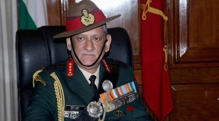 Army chief Bipin Rawat meets students of Manipur at South Block