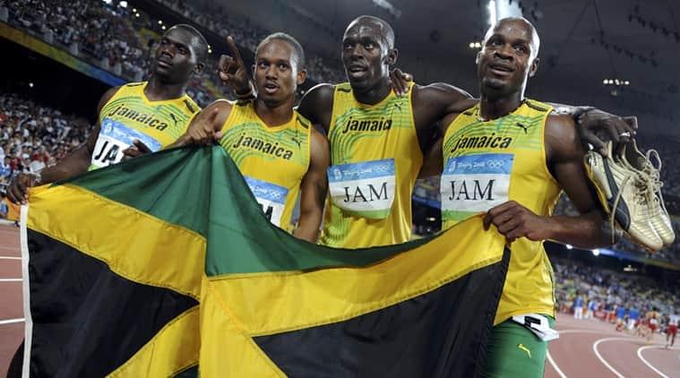 Usain Bolt 2008 Olympics Olympic Medals Jamaica