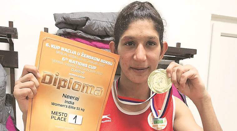 Neeraj won India's sole gold medal in the recently-concluded Nations Cup in Serbia.