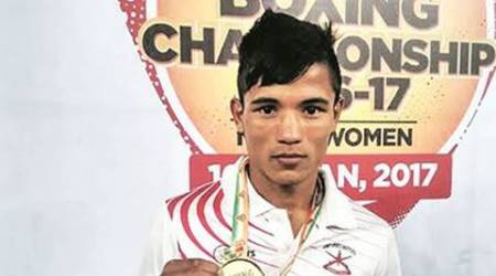 Farmer boy Mohammed Etash Khan packs a punch at Youth Nationals
