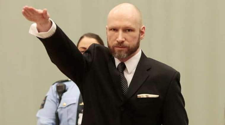 Breivik, Norway 2011 attacks, Breivik mass shooter, norway mass shooting, norway 2011 shooting, nazi salute Breivik, world news