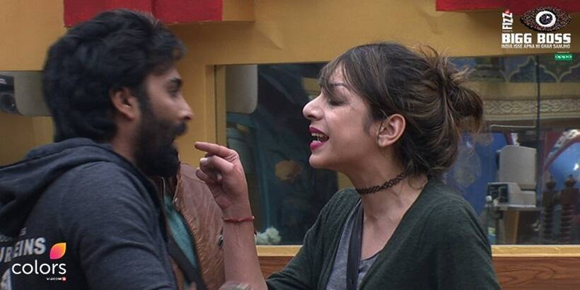 bigg boss 10, bigg boss 10 highlights, bigg boss rules, nitibha manveer friendship, nitibha manveer split, nitibha manveer fights