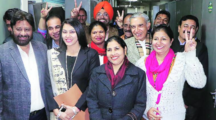 chandigarh, chandigarh mayor elections, bjp, congress, chandigarh congress, chandigarh bjp, punjab elections, punjab, punjab elections 2017, punjab congress, punjab bjp, indian express, india news