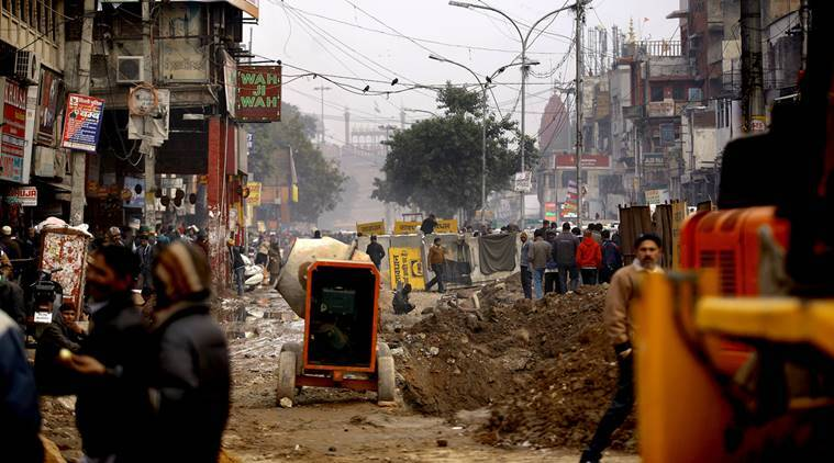 chandini chowk, Shahjahanabad, Shahjahanabad revamp, Shahjahanabad revamp project, Shahjahanabad redevelopment project, redevelopment project, walled city, aap, aap government, aam aadmi party, delhi metro, pwd, indian express news, delhi news