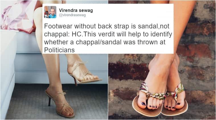 chappal sandal delhi hc, delhi high court, sandal vs chappal, wishall, delhi high court bizarre judgment, bizarre court rulings, indian express, indian express news