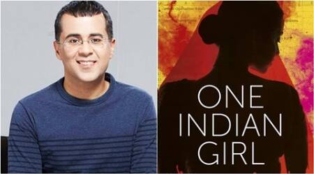 chetan bhagat. chetan bhagat one indian girl, kindle, kindle india, jeffrey archer, romatic fiction, literature and art fiction, indian express, indian express news