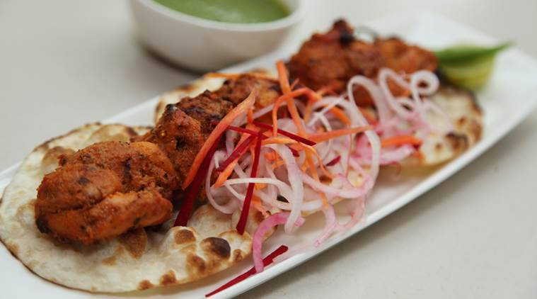 Chicken Tikka and Naan combo is probably the favourite of Indians.