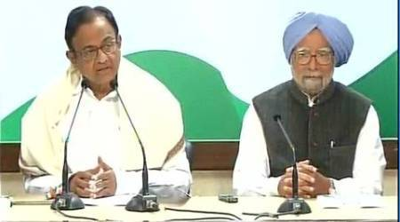 Indian economy not in good shape, say Manmohan Singh, P Chidambaram
