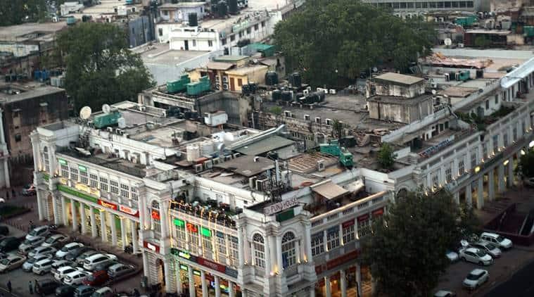 Delhi, Delhi-Connaught Place, no vehicles in CP, vehicles banned in CP, CP-no vehicle zone, CP-Delhi, Delhi news, India news, Indian Express