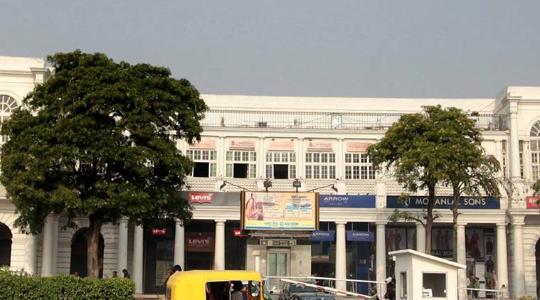 Connaught Place, parking, MCD