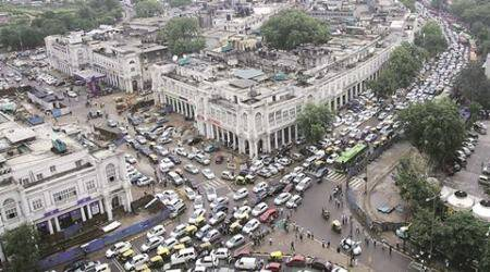 No vehicles inside Connaught Place for three months starting February