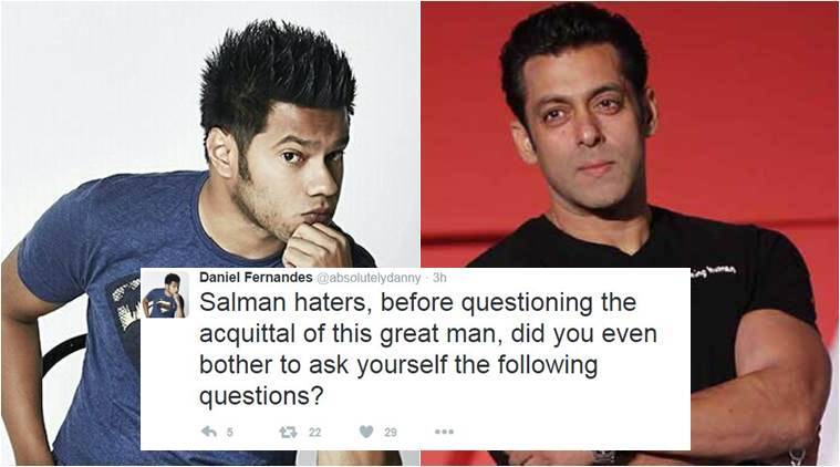 Comedian Daniel Fernandes has something to say on Salman Khan's acquittal