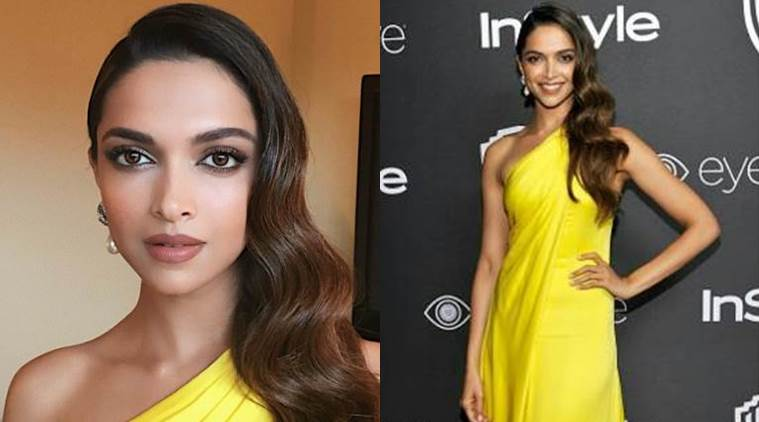 Deepika Padukone looked gorgeous in Ralph Lauren. (Source: Instagram/Shaleena Nathani, Hung Vanngo)