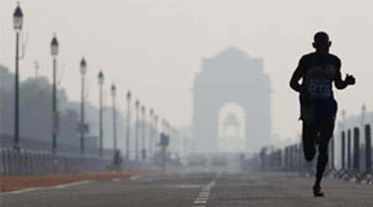 Delhi weather, Delhi partly cloudy, delhi cloudy weather, Delhi temperature, dehi winter, delhi news, indian express news