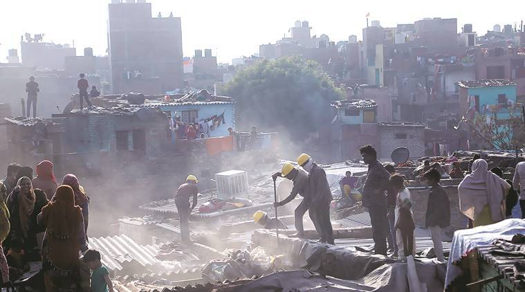 Kathputli Colony,raheja developers, Kathputli Colony redevelopment, transit camp, Delhi Masterplan 2021, puppeteers, india news, latest news, delhi news