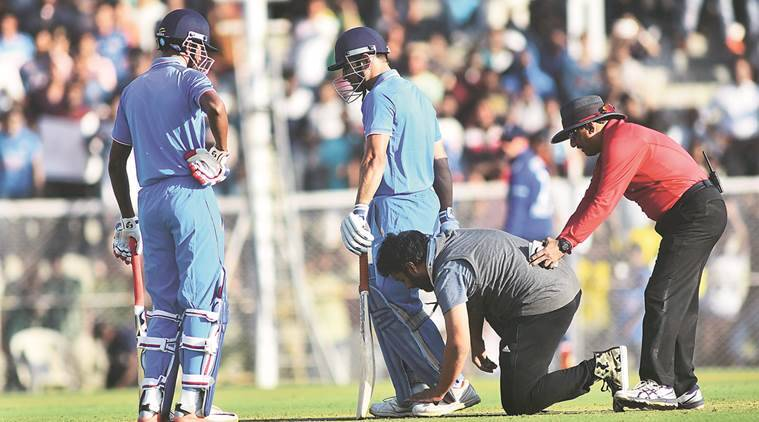 India, England, India A-England, India-England series, England wins India, Dhoni, MS Dhoni, Yuvraj Singh, Rayadu, Rayadu century, Rayadu ton in vain, Billings, cricket news, Indian Express
