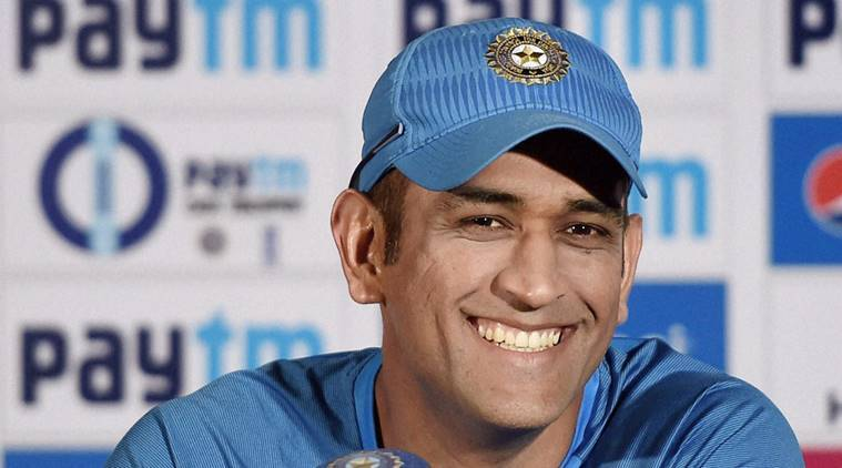 Pune: MS Dhoni at a press conference in Pune on Friday. PTI Photo by Mitesh Bhuvad    (PTI1_13_2017_000120A)