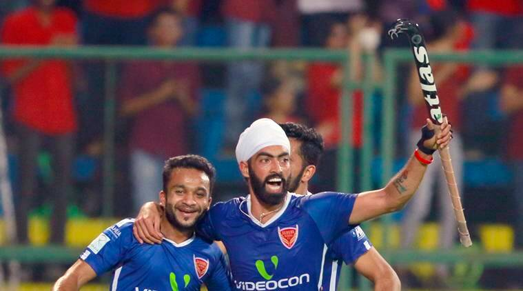 hockey india league, hil, hil 2017, dabang mumbai, delhi waveriders, dabang mumbai vs delhi waveriders, affan yousuf, hockey news, sports news