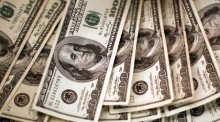 FOREX-Dollar dips, weighed down by sagging long-term US yields