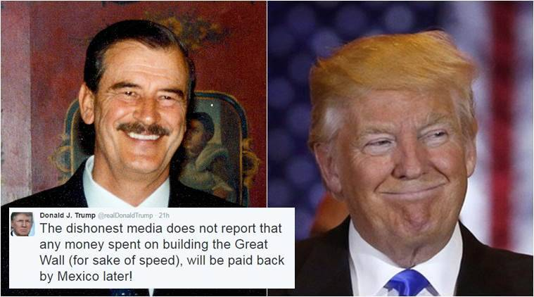 Former Mexico president has a message for Donald Trump