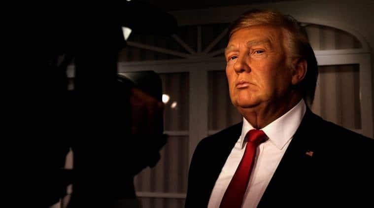 Donald Trump, Donald Trump waxwork, Donald Trump Madame Tussauds London, Madame Tussauds London, Barack Obama
