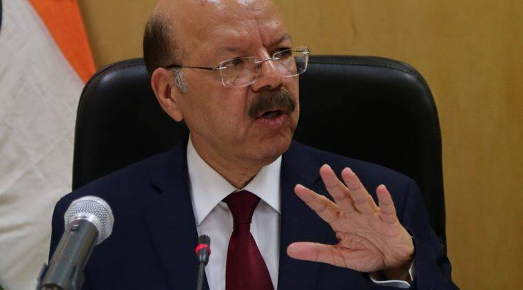 evm tampering, election commission, EC EVM, EC EVM row, EC EVM issue, evm rigging, evm issue, all party meet, CEC Nasim Zaidi, Nasim Zaidi on all party meet, Voter-Verified Paper Audit Trail (VVPAT), Election Commission meeting, indian express news