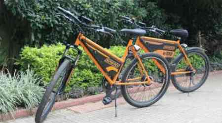 Solar powered bicycle, eco-friendly alternative, pollution reduction, battery powered solar cycle,solar assisted bicycle, bicycle carrier, alternative to two wheelers, solar assisted bicycle production, cost of solar assisted bicycle, two wheeler alternative, Science, Science news