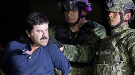 Mexican drug lord 'El Chapo' lands in New York to face charges