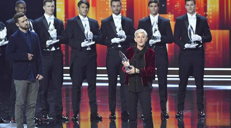 People's Choice Awards 2017, Ellen Degeneres, Ellen Degeneres show, Ellen Degeneres People's Choice, People's Choice