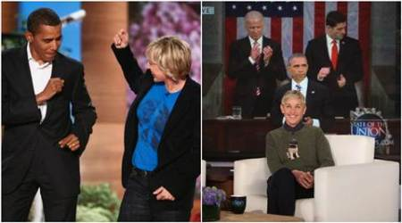 Ellen DeGeneres, Barack Obama, Ellen DeGeneres Barack Obama, Ellen DeGeneres Barack Obama emotional farewell, Ellen DeGeneres Barack Obama video, Ellen DeGeneres Barack Obama farewell video