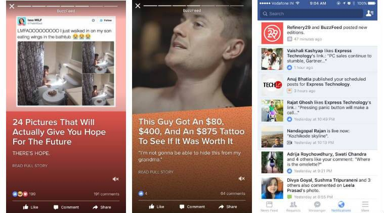 Facebook editions, facebook, Snapchat discover, facebook instant stories, facebook introduces editions, buzzfeed editions, instagram stories, facebook stories, facebook instant articles format, social media, technology, technology news