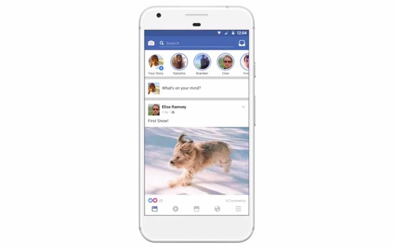 Facebook Stories, copied from Snapchat, are now live in Ireland