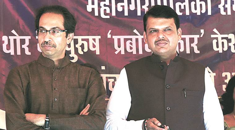 shiv sena, uddhav thackeray, shiv sena bjp alliance, uddhav bjp, devendra fadnavis, fadnavis thackeray alliance, mumbai news, india news