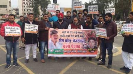 Delhi BJP youth wing members in Punjab to expose 'AAPlies'