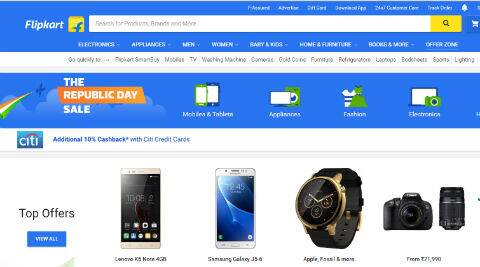 Flipkart Republic Day sale: Top deals on iPhone 7, Lenovo Vibe K5 Note, Moto Z Play and more