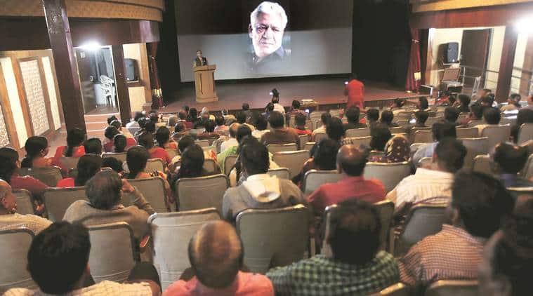 Om Puri, Om Puri death, Om Puri passes away, Om Puri FTII, FTII remembers Om Puril, FTII Pune, Pune news, entertainment news, bollywood news, indian express