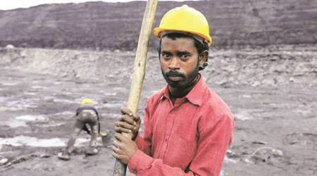 A day in the life of an open cast mine in Jharkhand: No salaries, but happy for the job