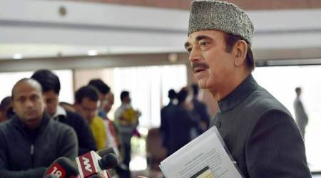 Govt has not come forward with any name for Presidential election: Ghulam Nabi Azad