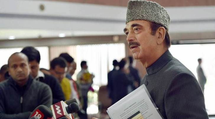 ghulam nabi azad, opposition, gst midnight session, opposition unity, congress opposition, presidential elections, ram nath kovind, nitish kumar, india news