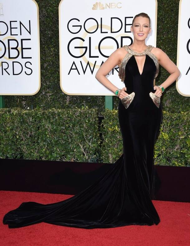 Emma Stone to Blake Lively — All the best dressed celebrities at the Golden Globes 2017