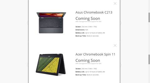 Google for Education unveils two new Chromebooks with Wacom stylus