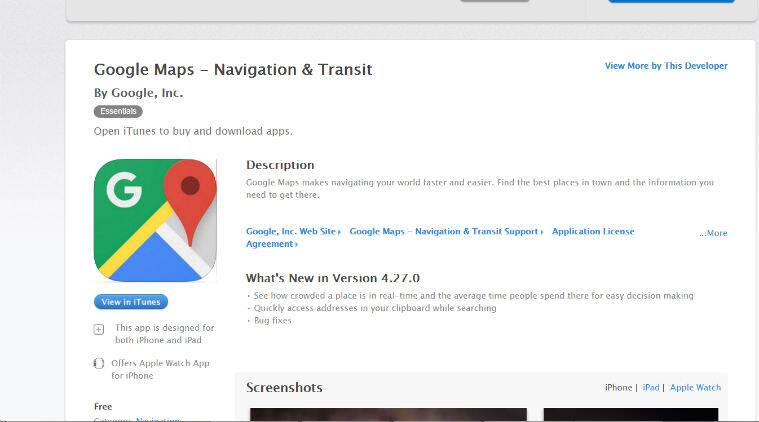 Google Maps for iOS adds real-time crowd status, Android gets ...
